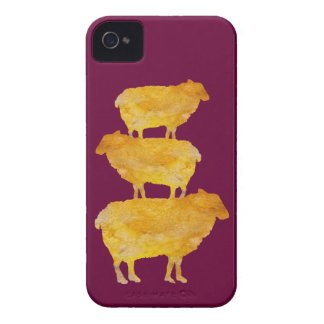 Golden Sheep Stack iPhone 4 Case-Mate Case