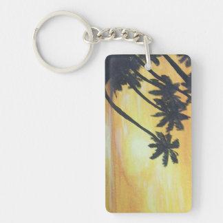 Golden Shores Keychain