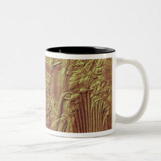 Golden shrine, Tutankhamun's Treasure Two-Tone Coffee Mug