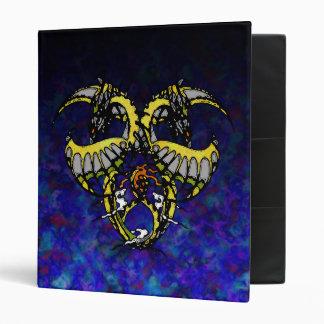 Golden Smoke Dragonheart Binders