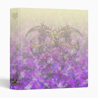 Golden Smoke Dragonheart Vinyl Binder