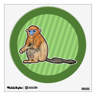 Golden Snub-Nosed Monkey Wall Sticker