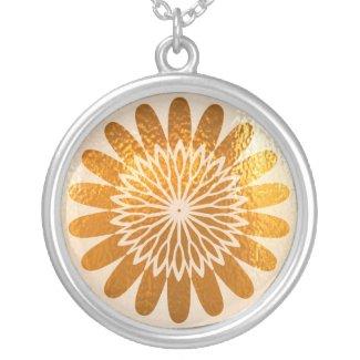 Golden Sparkle Wheel of Fortune Custom Jewelry