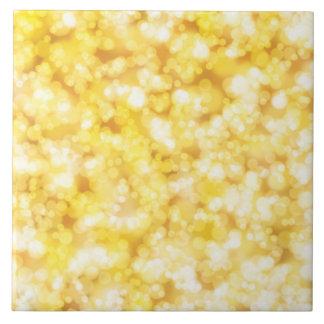 Golden Sparkley Ceramic Tiles