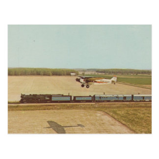 Golden Spike Centennial Limited Postcard