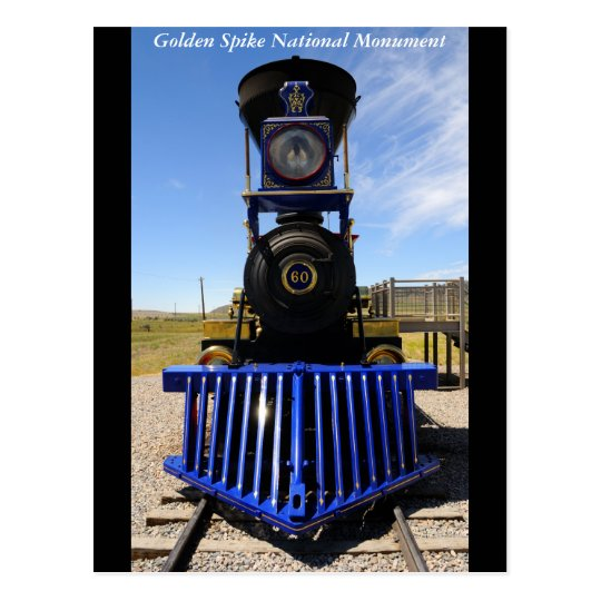 Golden Spike National Historical Monument Postcard