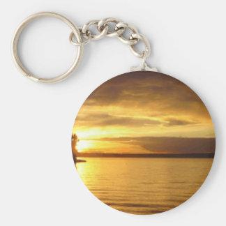 Golden Splash Keychain