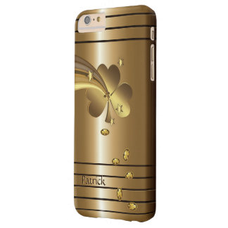 Golden St.Patrick's Day Barely There iPhone 6 Plus Case