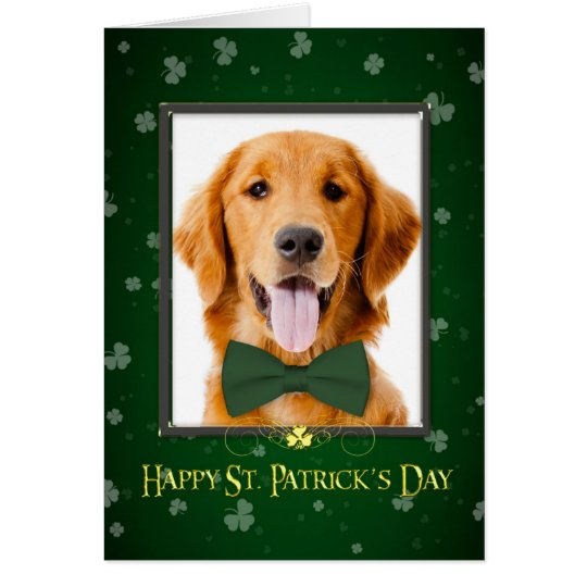 Golden St. Patrick's Day Card