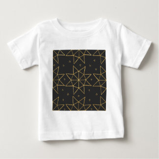 Golden Star Wheels Baby T-Shirt