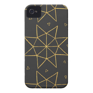 Golden Star Wheels iPhone 4 Case