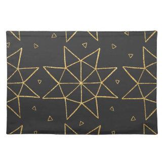 Golden Star Wheels Placemat