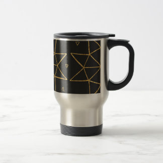 Golden Star Wheels Travel Mug