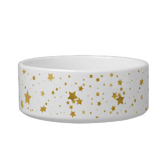 Golden Stars2 -Pure White- Bowl