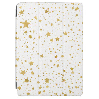 Golden Stars2 -Pure White- iPad Air Cover