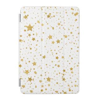 Golden Stars2 -Pure White- iPad Mini Cover