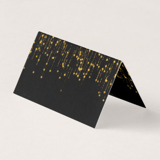 Golden Stars Business Card
