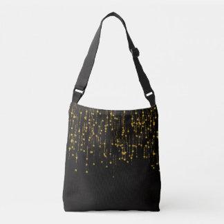 Golden Stars Crossbody Bag