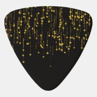 Golden Stars Guitar Pick