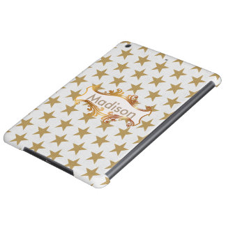 Golden stars iPad air cover