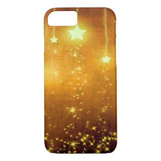 Golden Stars iPhone 7 Case