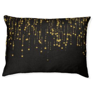 Golden Stars Pet Bed