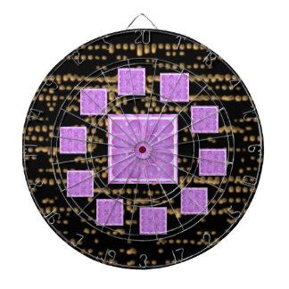 Golden Stary Nights n Purple  Pearls Dartboards