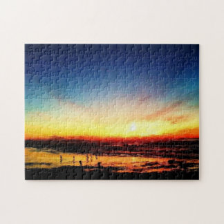 Golden State Beach Sunset over the Pacific Puzzles