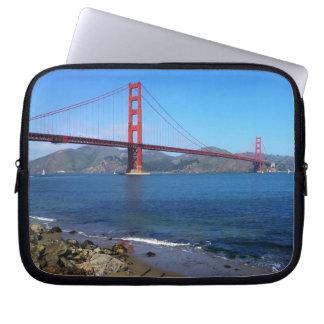 Golden State Bridge - San Francisco, California Computer Sleeve