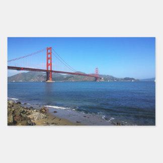 Golden State Bridge - San Francisco, California Sticker