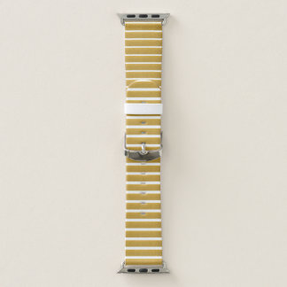 Golden Stripes  Apple Watch Band