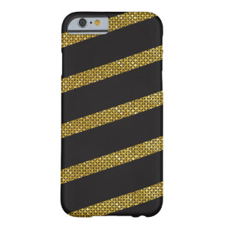 Golden Stripes Barely There iPhone 6 Case