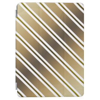 Golden stripes iPad air cover