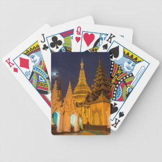 Golden Stupa And Temples Bicycle Playing Cards