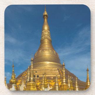 Golden Stupa Temple Coaster