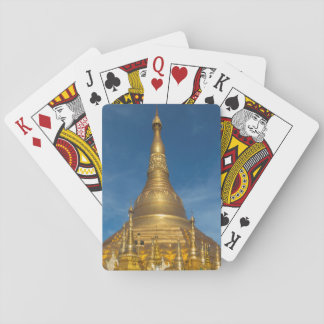 Golden Stupa Temple Playing Cards