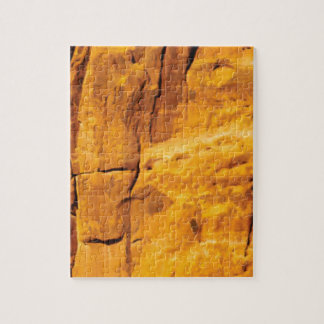 golden sun kissed stone jigsaw puzzle