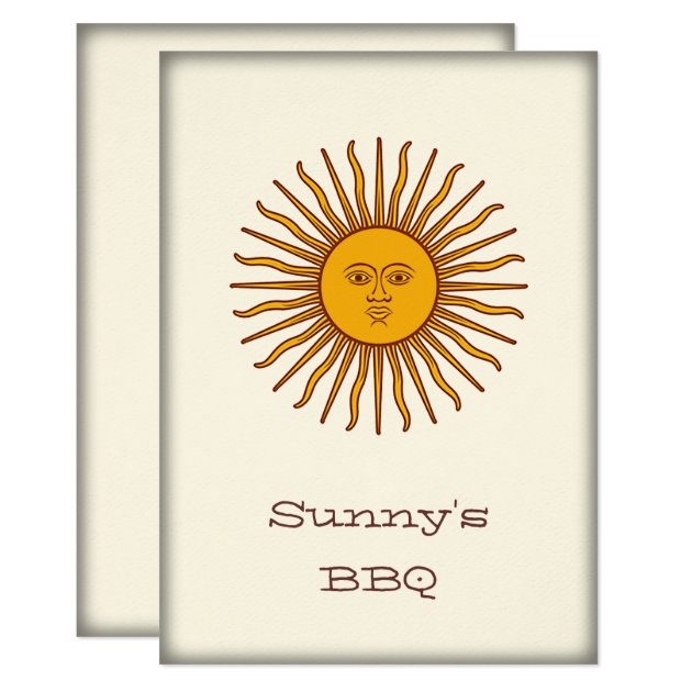 Argentine flag sun