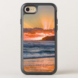 Golden Sunbeams Over Ocean OtterBox Symmetry iPhone 8/7 Case