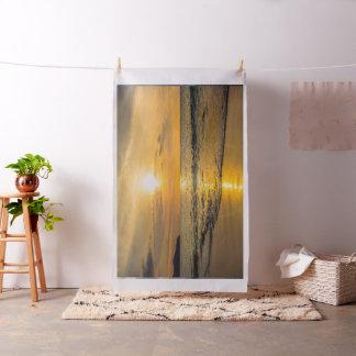 GOLDEN SUNSET GIFT, RELAXING OCEAN WATER FABRIC