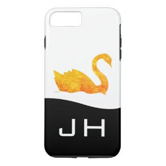 Golden Swan iPhone 8 Plus/7 Plus Case