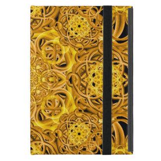 Golden Swirls Mandala Case For iPad Mini