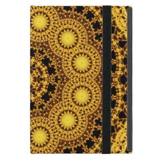 Golden Symmetry Mandala iPad Mini Cases