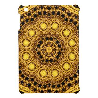 Golden Symmetry Mandala iPad Mini Covers