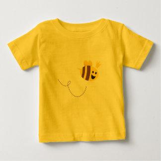 Golden t-shirt with little cute Bee