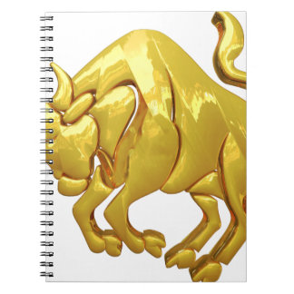 Golden Taurus Notebook