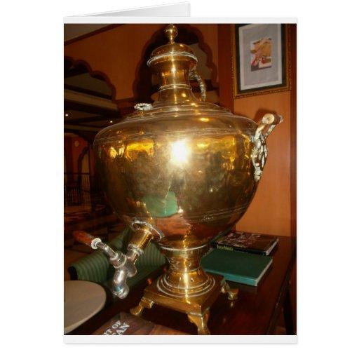 Golden tea Pot Cards