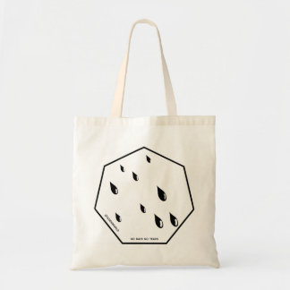 Golden tears tote bag
