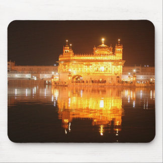 Golden Temple Amritsar North India at Night Mouse Pad