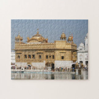 Golden Temple Harmandir Sahib Amritsar North India Jigsaw Puzzle